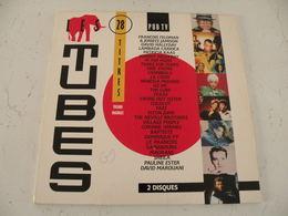 Les Hits 28 Titres Versions Originales 1989 -  (Titres Sur Photos) - Vinyle 33T Double Album - Hit-Compilations