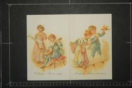 Calendriers, Calendrier Petit Format 1988 Chicorée Leroux Collection Leroux 1900 Image Leroux Du Passé - Calendriers