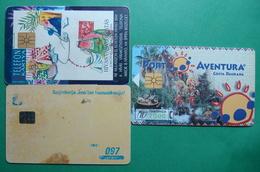 Bosnia Herzegovina, Spain, Turkey Lot Of 3 Chip Phonecards - Phonecards