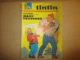Tintin  Le Super Journal Des Jeunes De 7 à 77 Ans  (N° 15 / 1967) 22° Année Édition Belge - Livres, BD, Revues