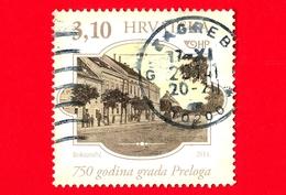CROAZIA - Usato - 2014 - 750 Anni Della Città Di Prelog - 3.10 - Croazia
