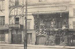 CPA Paris Montmartre Cabarets Artistiques : Le Ciel, L'Enfer - Distrito: 18