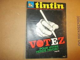 Tintin  Le Super Journal Des Jeunes De 7 à 77 Ans  (N° 21 / 1967) 22° Année Édition Belge - Books, Magazines, Comics