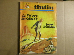 Tintin  Le Super Journal Des Jeunes De 7 à 77 Ans  (N° 38 / 1967) 22° Année Édition Belge - Bücher, Zeitschriften, Comics