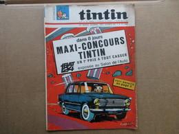 Tintin  Le Super Journal Des Jeunes De 7 à 77 Ans  (N° 2 / 1967) 22° Année Édition Belge - Books, Magazines, Comics