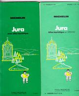 GUIDE VERT MICHELIN JURA + ATLAS TOURISTIQUE, 1971 - Michelin (guides)