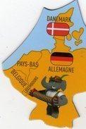 Magnets Magnet Savane Brossard Europe Allemagne Danemark - Tourisme