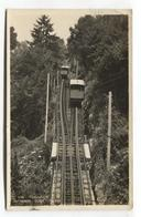 Funiculaire De Territet–Glion, Funicular Railway - 1933 Used Switzerland Real Photo Postcard - VD Vaud
