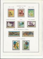GUINEE - POSTE AERIENNE N° 59 A 68 NEUF  X - ANNEE 1966 - COTE : 32 € - Côte Française Des Somalis (1894-1967)