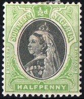 NIGERIA MERIDIONALE, SOUTHERN NIGERIA, BRITISH CROWN COLONY, REGINA VITTORIA, 1901, NUOVI (MLH*)  YT 1   Scott 1 - Nigeria (...-1960)