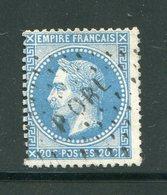 Y&T N°29A- PORL - 1863-1870 Napoleone III Con Gli Allori