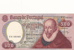 Portugal- 500 Escudos 4  - Outubro-1979 - Portugal
