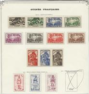 GUINEE FRANCAISE - N° 158 A 171 NEUF X - ANNEE 1940-41 COTE :17,50 € - Côte Française Des Somalis (1894-1967)