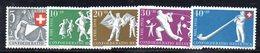 299/1500 - SVIZZERA 1951 , Unificato N. 507/511  ***  MNH  Pro Patria - Pro Patria