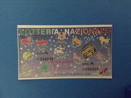 1993 BIGLIETTO LOTTERIA NAZIONALE ITALIA - Loterijbiljetten