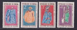 SENEGAL N°  266 à 269 ** MNH Neufs Sans Charnière, TB (D7587) Poupées De Gorée - 1966 - Sénégal (1960-...)
