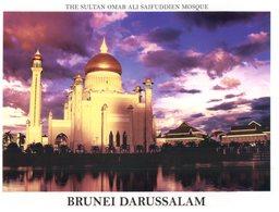 (777) Brunei Darrusalam - Sultan Omar Ali Mosque - Brunei