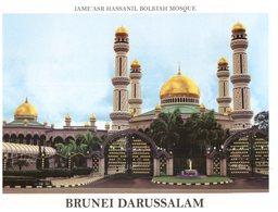 (777) Brunei Darrusalam - Sultan Bolkiah Mosque - Brunei