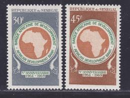 SENEGAL N°  322 & 323 ** MNH Neufs Sans Charnière, TB (D7586) Banque Africaine De Développement - 1969 - Sénégal (1960-...)