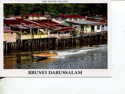 (777) Brunei Darrusalam - Water Village And Jet Boat - Brunei