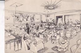 "RESTAURANT ""LE CARLTON"". WATERLOO, BRUXELLES. EDIT VANYPECO. CIRCA 1940's. - BLEUP - Hotel's & Restaurants"