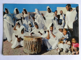 Cp - Mauritanie - Islamique - Séance De Tem-tam - Mauritanie