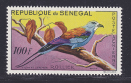 SENEGAL AERIENS N°   32 ** MNH Neuf Sans Charnière, TB (D7588) Faune, Oiseaux, Rollier - 1960/63 - Sénégal (1960-...)