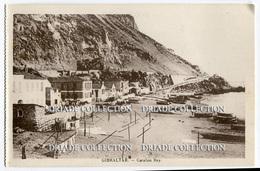 CARTOLINA GIBILTERRA CATALAN BAY GIBRALTAR - Gibilterra