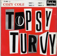 """Cozy Cole 45t. EP """"topsy Turvy"""" - Other - English Music"""