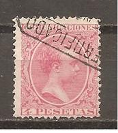 España/Spain-(usado) - Edifil  227 - Yvert  210 (o) - 1889-1931 Reino: Alfonso XIII