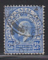 NATAL Scott # 85 Used - KEVII - Zuid-Afrika (...-1961)