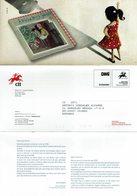 COMMUNICATION SERVICE PHILATÉLIQUE PORTUGAL ÉMISSION DES TIMBRES - AMIGA SOMBRA - MY CHRISTMAS STORY - Cuentos, Fabulas Y Leyendas
