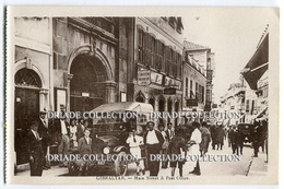 CARTOLINA GIBILTERRA MAIN STREET AND POST OFFICE GIBRALTAR - Gibilterra