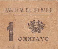 Portugal Cédula De Rio Maior 1 Ctv-nº1938 - Portugal