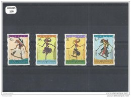 COCOS 1994 - YT N° 306/309 NEUF SANS CHARNIERE ** (MNH) GOMME D'ORIGINE LUXE - Cocos (Keeling) Islands