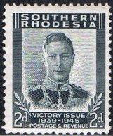 RHODESIA MERIDIONALE, SOUTHERN RHODESIA, BRITISH COLONY, RE GIORGIO VI, 1947, NUOVI (MLH), YT 64    Scott 68 - Rhodesia Del Nord (...-1963)