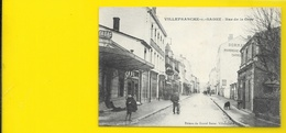 VILLEFRANCHE Sur SAONE Rue De La Gare (Grand Bazar) Rhône (69) - Villefranche-sur-Saone