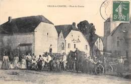 70-VELLE-LE-CHATEL- PLACE DU CENTRE - France