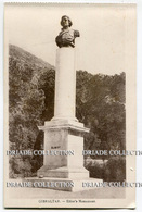 CARTOLINA GIBILTERRA ELLIOT'S MONUMENT GIBRALTAR - Gibilterra