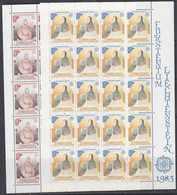 Europa Cept 1983 Liechtenstein 2v 2 Sheetlets ** Mnh (F7493) - 1983