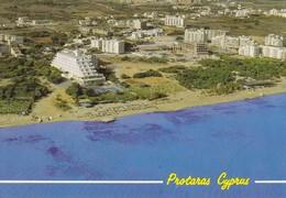 Postcard Protaras Cyprus Bird's Eye Aerial View [ Hotels And Beach ] My Ref  B23072 - Cyprus