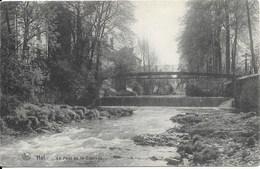 HALLE (1500) : HAL - Le Pont De La Cascade. CPA. - Halle