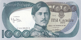Portugal- Mil Escudos -D. Pedro V-3 -12 -1981 -bela Sem Vincos - Portugal