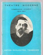 Programme Théatre Moderne Saison 1966-1967 Compagnie Pitoëff 1915-1967 - Programs