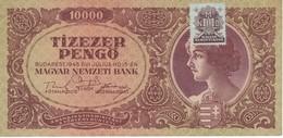 BILLETE DE HUNGRIA DE 10000 PENGO DEL AÑO 1945 (BANKNOTE) - Hungría