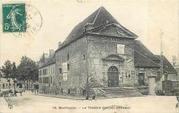 03-45 CPA    MONTLUCON  Le Théatre Ancien Chateau       Belle Carte - Montlucon