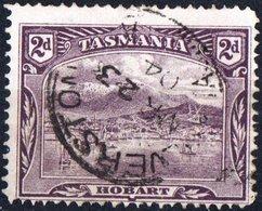 TASMANIA, COLONIA BRITANNICA, BRITISH COLONY, PAESAGGI, LANDSCAPES, 1899, FRANCOBOLLI USATI YT 61    Scott 88 - 1853-1912 Tasmania