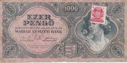 BILLETE DE HUNGRIA DE 1000 PENGO DEL AÑO 1945 (BANKNOTE) - Hungría
