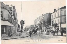 SANNOIS --La Rue De Paris - Sannois