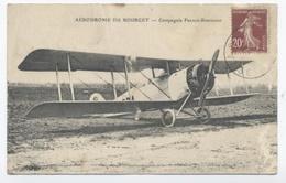 ETAT --AERODROME DU BOURGET COMPAGNIE FRANCO-ROUMAINE --RECTO/VERSO- B33 - Le Bourget